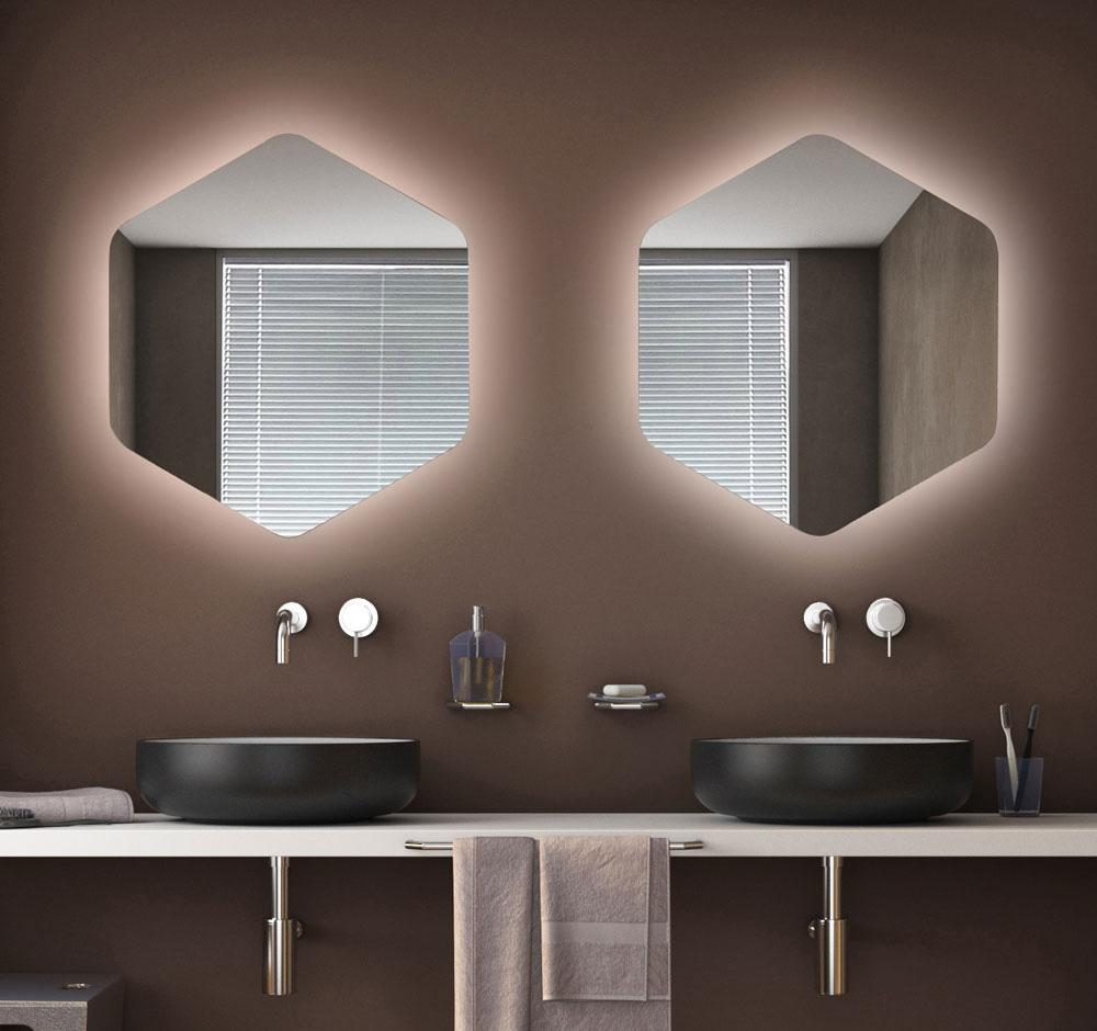 specchio esagono itamar harari